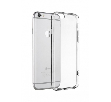 iPhone 7 plus Soft Silicone Rubber Case - Clear