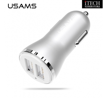 2.4A Dual USB Port Car Charger