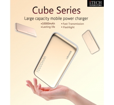 USAMS Power Bank 10000mah -- Cube Series US-CD03