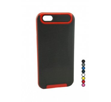 iPhone 6 Plus Stripes Rubber Case with Bumper