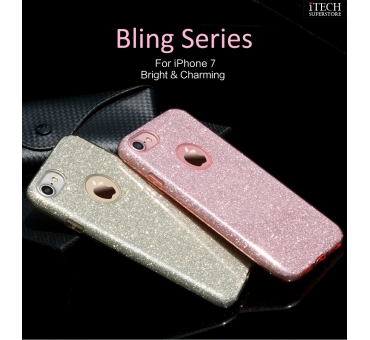 iPhone7 Plus Back Case--Bling Series