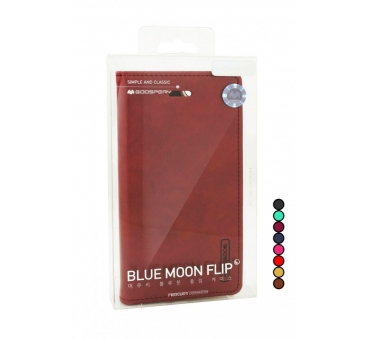 iPhone 7 Goospery Blue Moon Flip Case